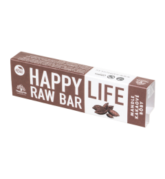 HAPPYLIFE RAW BAR - mandľa kakao 42g