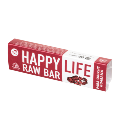 HAPPYLIFE RAW BAR - para orechy guarana 42g